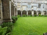 Cloister at Lacock Abbey