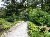 Gardens of Sizergh Castle, a National Trust Site