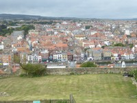 View from Whitby Abbey