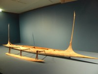 The Musée du Quai Branly - Jacques Chirac - Oceania Exhibit