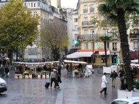 2003 photo of a Paris Street Market in November