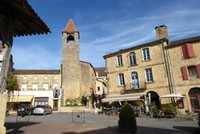 Tour des Filhols opposite the Market Hall