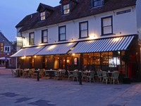 Côte Brasserie on St. Thomas Square in Salisbury