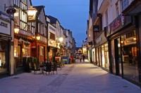 Butcher Row at night, Salisbury