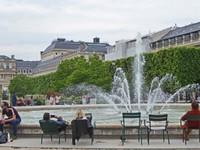 Jardin du Palais Royal - Fountain