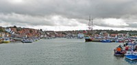 Whitby Harbor view