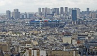 View of Paris from Basilica Sacre Cœur