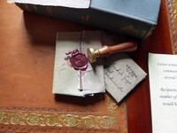 Sealing wax at Sizergh Castle