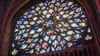 Rose Window at Sainte-Chapelle, Paris