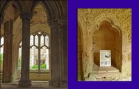 Window and Book Cupboard at Lacock Abbey