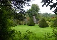 Gates outside Sizergh Castle