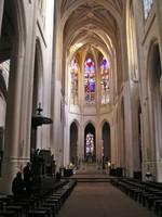 Nave of Église Saint-Gervais-et-Saint-Protais