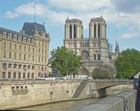 Cathedral Notre Dame de Paris after the fire
