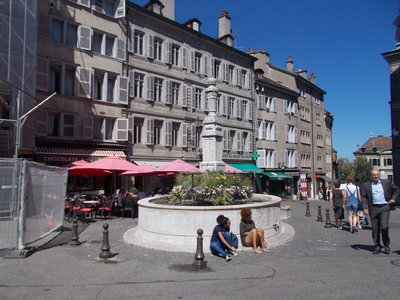 Place du Bourg-de-Four.