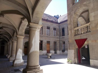 Geneva's Town Hall.