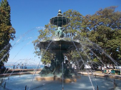 The four seasons fountain.