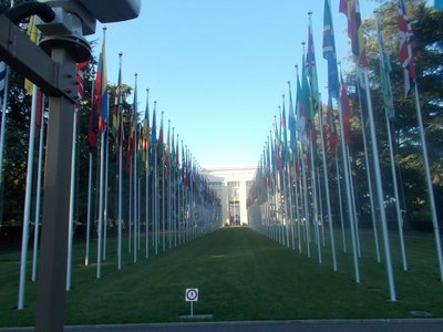 UN Headquarters.