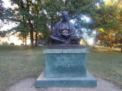 Muhatma Ghandi.