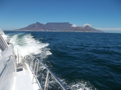 Looking towards Robben Island.