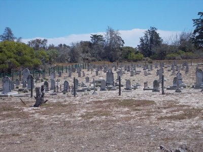 Lepers Graveyard Robben Island.