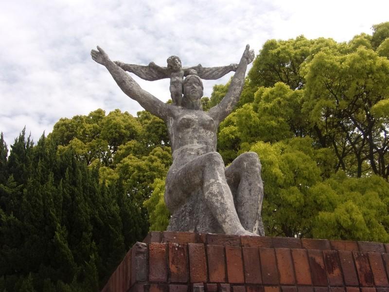 Demeter statue, Ohori Park.