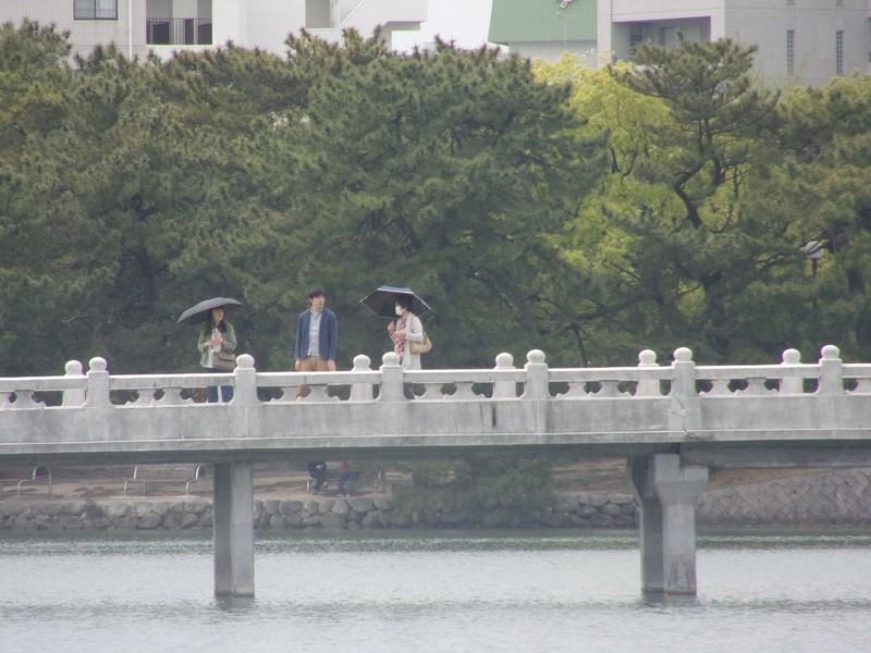 Ohori Park.