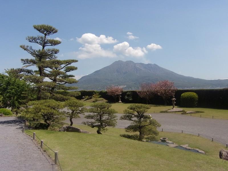 Looking towards Sakurajima.