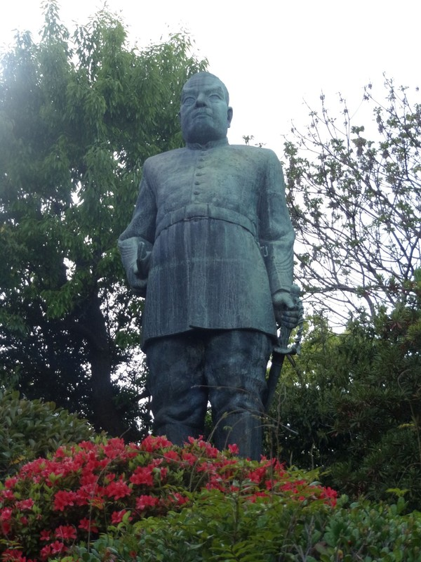 Statue of Saigo Takamori.