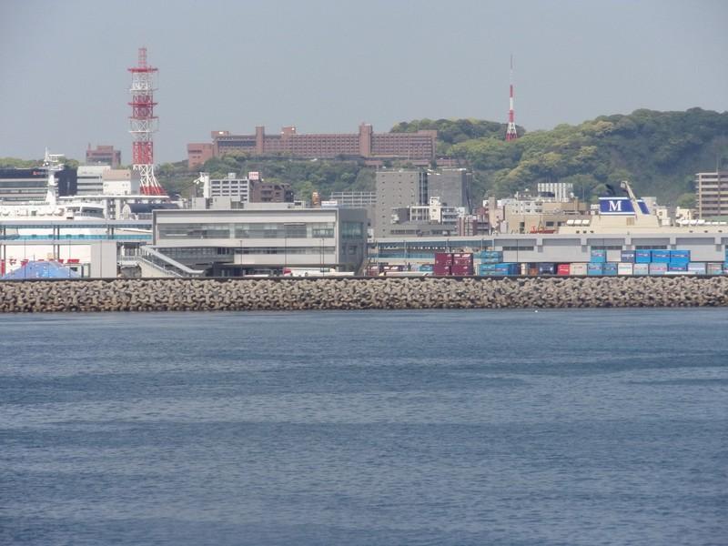 Leaving Kagoshima.