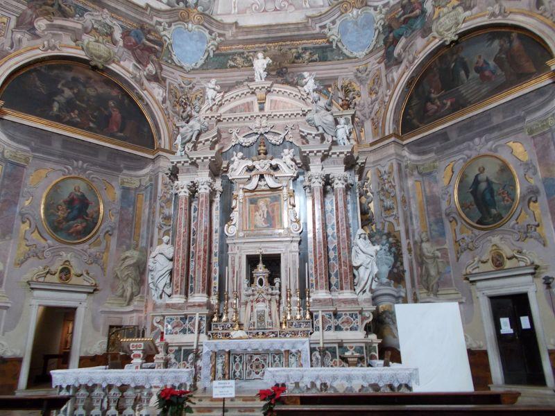 The Church of Santa Maria della Carita