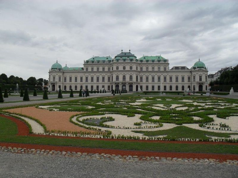 Beautiful palace and gardens in centre of Vienna - Vienna
