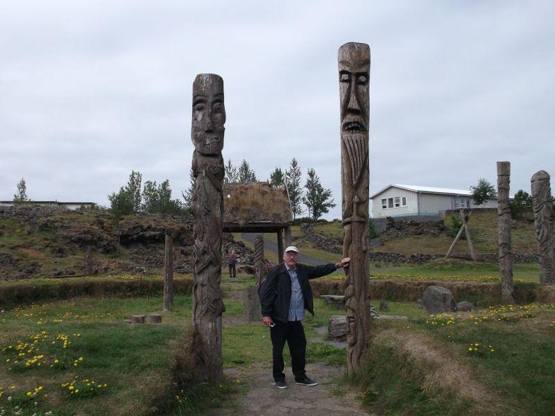 Sculpture Park - Viking Themed Play Park.