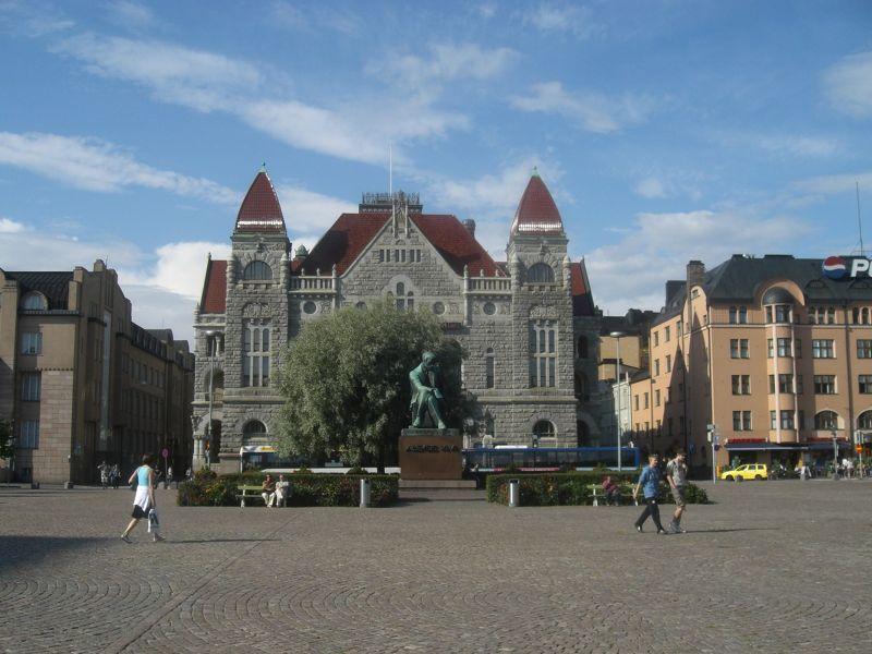 The Finnish National Theatre and Alexis Kivi - Helsinki