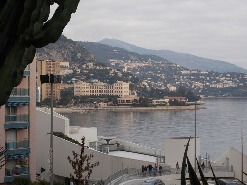 View from behind The Casino of Monte Carlo - Monaco