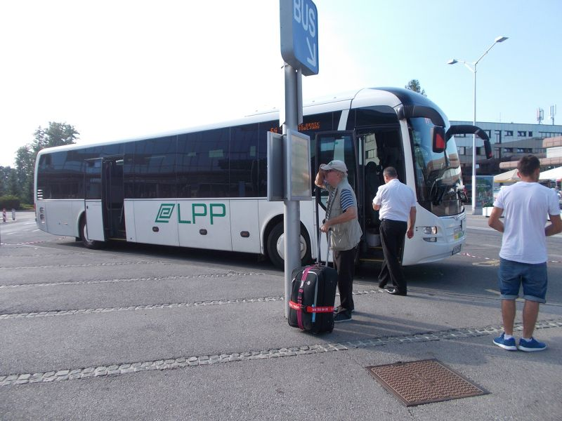Bus to and from Ljubljana Airport. - Ljubljana