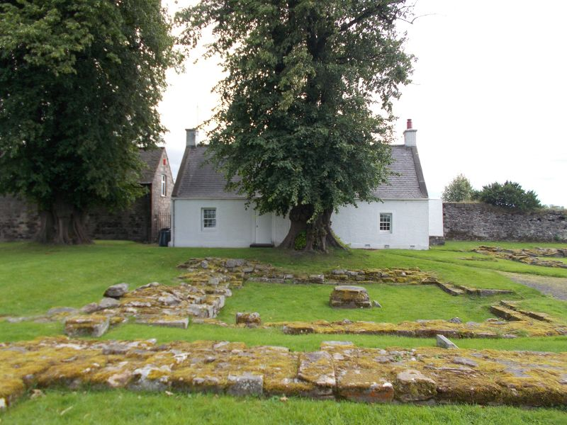 The grounds of Cambuskenneth Abbey. - Stirling