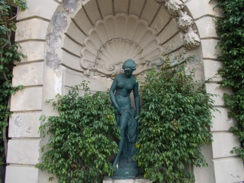Statue outside The Casino of Monte Carlo - Monaco
