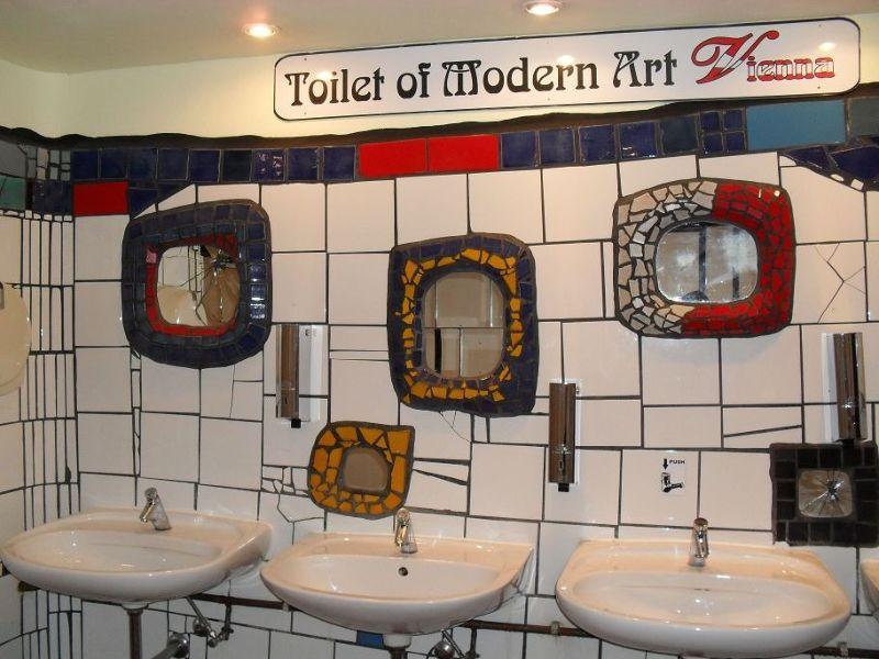 Inside the toilet of modern art - Vienna