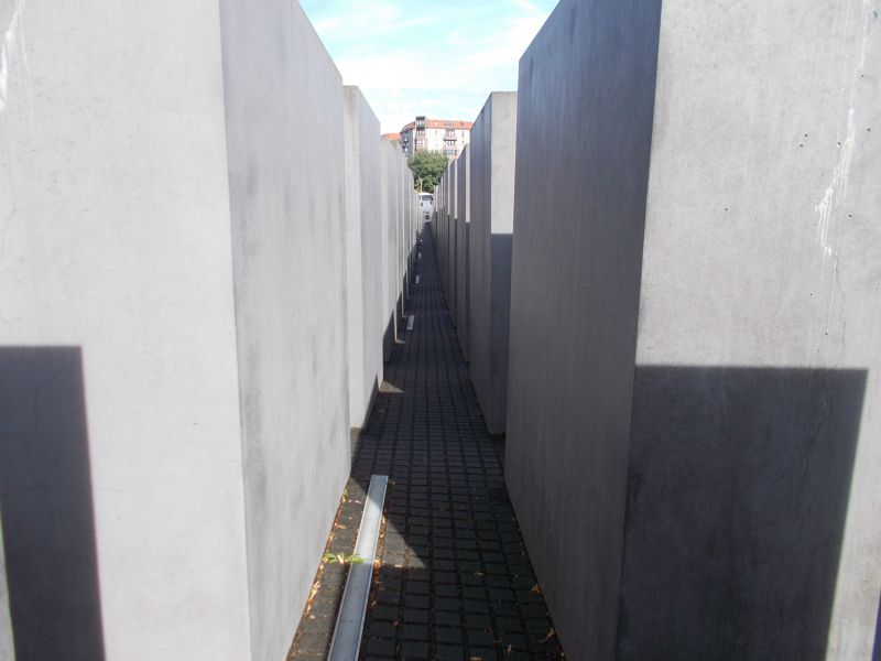 The Memorial to the Murdered Jews of Europe. - Berlin