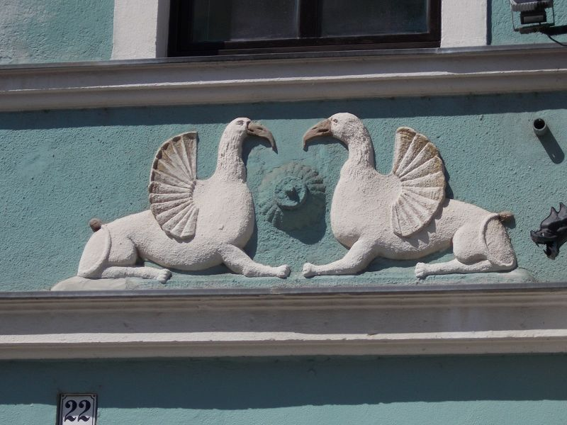 Detail on a house. - Lutherstadt Wittenberg