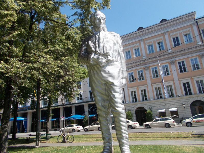 Sculpture of Maximilian von Montgelas - Munich