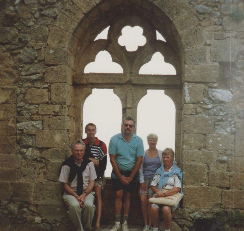 St Hilarion Castle - the queen's window. - Cyprus