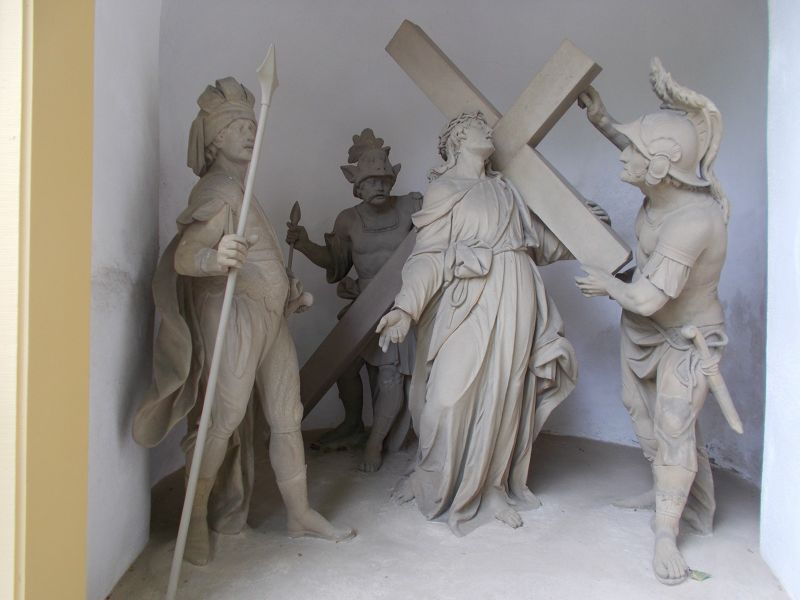 One of the stations of the cross. - Würzburg
