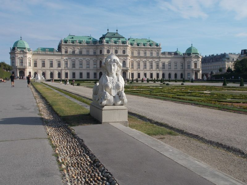 The Belvedere Palace and Gardens - Vienna