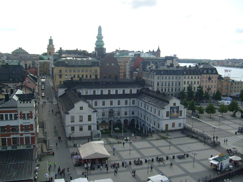 View over Sondermalm's Main Square - Stockholm