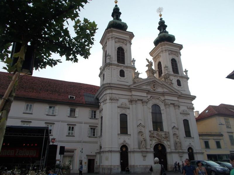 Church of Our Lady of Succor (Mariahilferkirche), - Graz