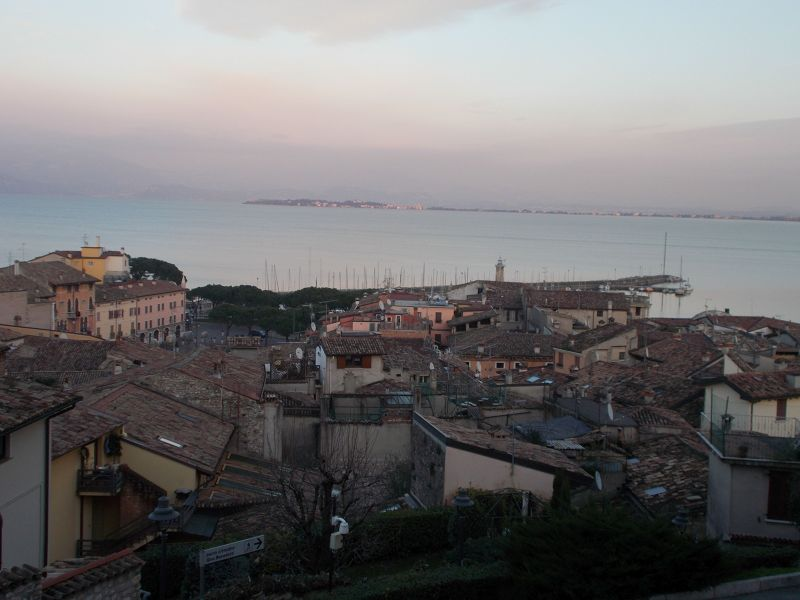 Views from Desenzano Castle - Lago di Garda