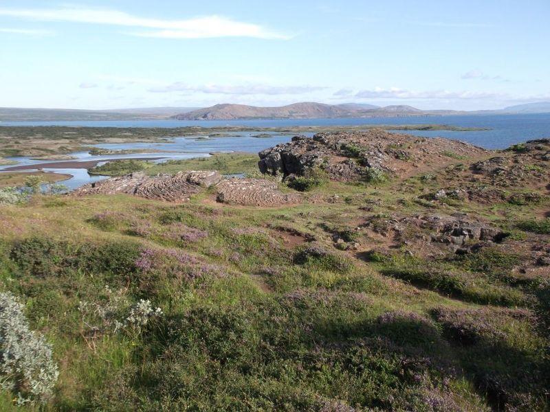 Scenery  in Thingvellir National Park - Reykjavík