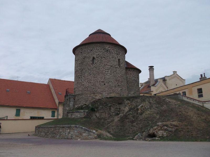 Znojmo's Castle And St Catherine's Rotunda