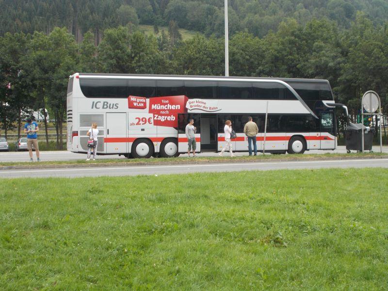 Bus from Munich to Ljubljana. - Ljubljana